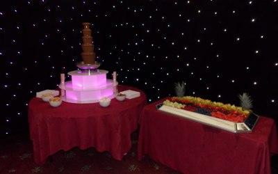 Chocolate Fountain For A Wedding