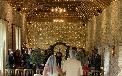 Wedding service @ Kirknewton stables