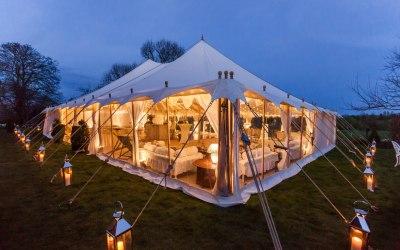 9x15m Petal Pole Tent