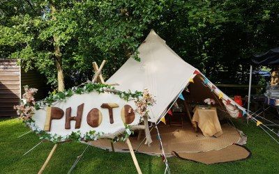 Raspberry Photobooth, Tents and Games 6