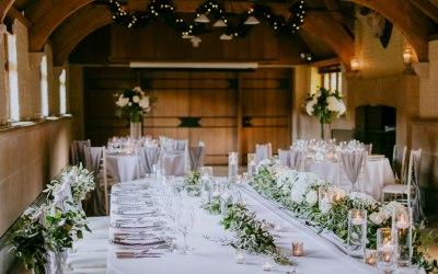 Top Table Wedding Setup
