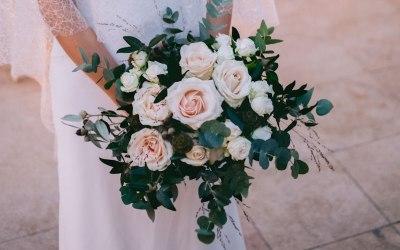 Blush Rose Bridal Bouquet