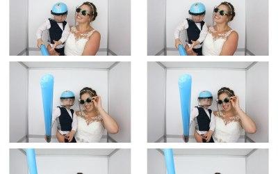 Photo booth print sample