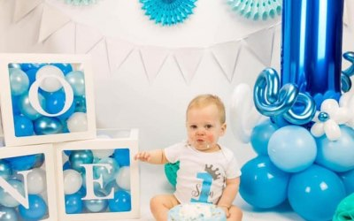 1st Birthday - Baby Blocks