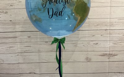 Personalised Father's Day bubble balloon