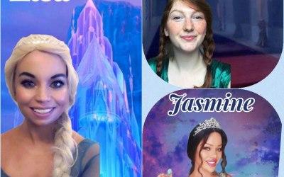 Princesses Elsa, Anna & Jasmine lots more!