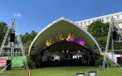 We provided sound and lighting for the opening weekend of Cheltenham Music festival 2019
