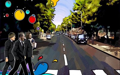 Heading to Abbey Road for our first recording session