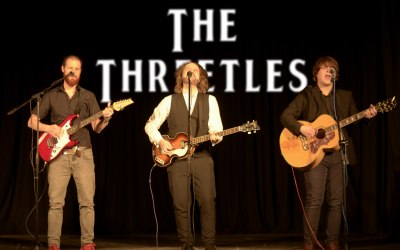 The Threetles in concert